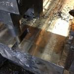 Réparation sur table de presse