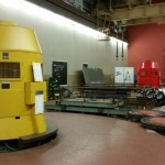 Turbine hydraulique: surfacage-alésage-création de gorge-inox